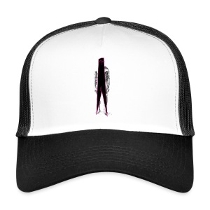 Figure Censor Mask - Trucker Cap