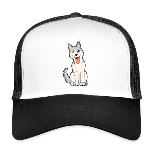 Husky grigio occhi azzurri - Trucker Cap