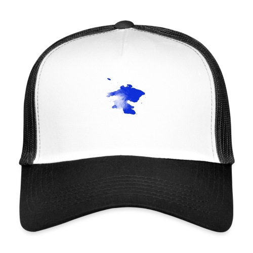 ink splatter - Trucker Cap