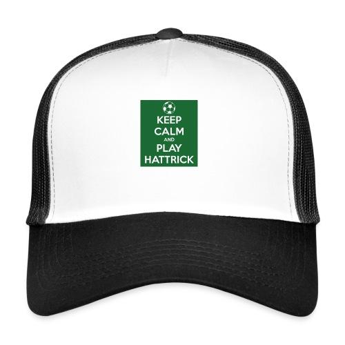 keep calm and play hattrick - Trucker Cap