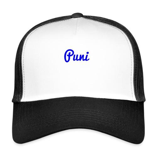 puni shirt Blauw - Trucker Cap
