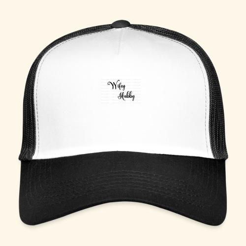 Wifey Hubby SVG by cutfilesgallery 580x386 - Trucker Cap