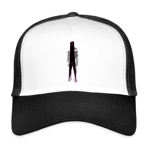 Figure Censor Mask - Trucker Cap