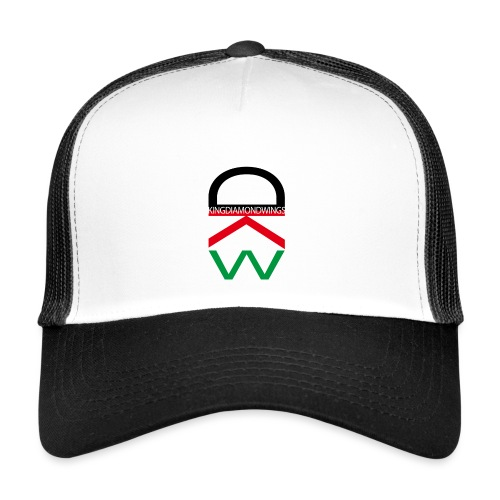King Diamond Wings Colored Logo - Trucker Cap