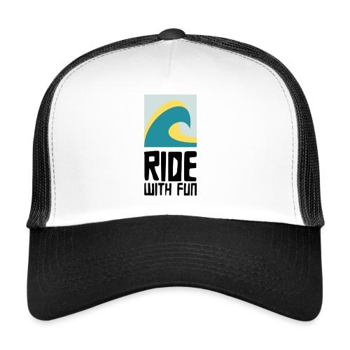 RWF Logo black - Trucker Cap