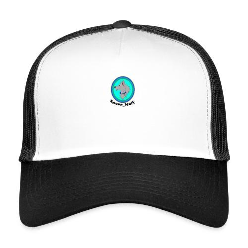Spoon_Wolf_2-png - Trucker Cap
