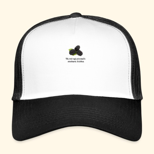 Picking blackberries - Trucker Cap