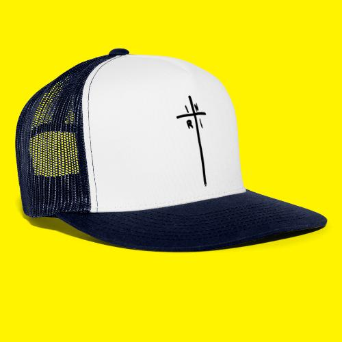 Cross - INRI (Jesus of Nazareth King of Jews) - Trucker Cap