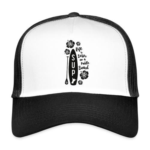SUP & Flowers - Trucker Cap