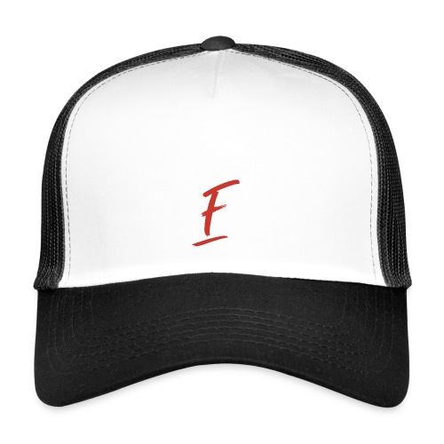 Radio Fugue F Rouge - Trucker Cap
