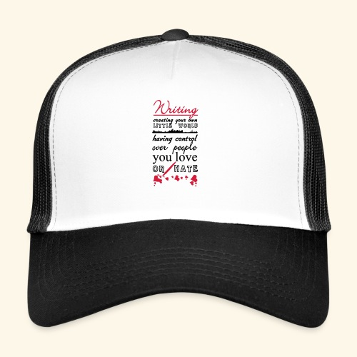 Writing - Trucker Cap