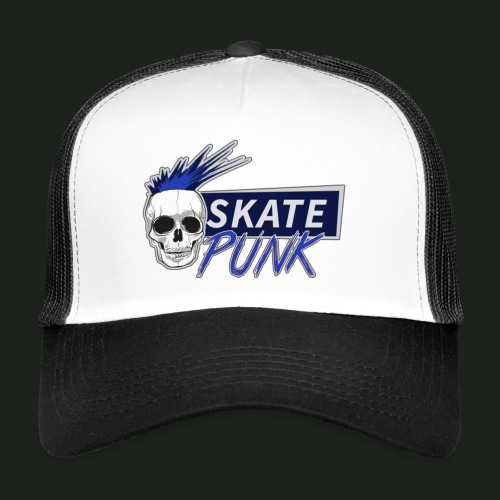 SkatePunk Logo - Trucker Cap