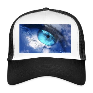 Der blau auge lets s player - Trucker Cap