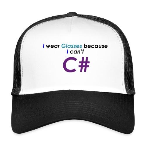 Can't C# - Trucker Cap