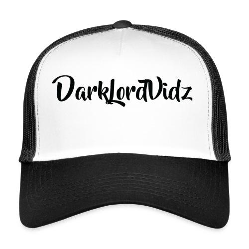 DarklordVidz Black Logo - Trucker Cap