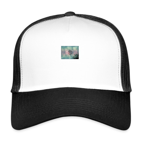 Llama in a circle - Trucker Cap