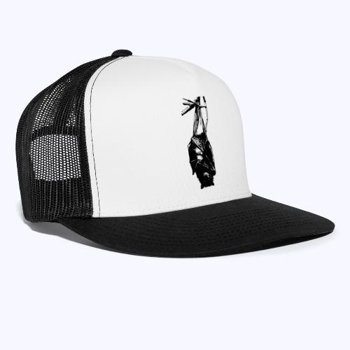 HangingBat schwarz - Trucker Cap