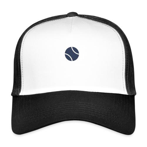 Logo azul - Gorra de camionero