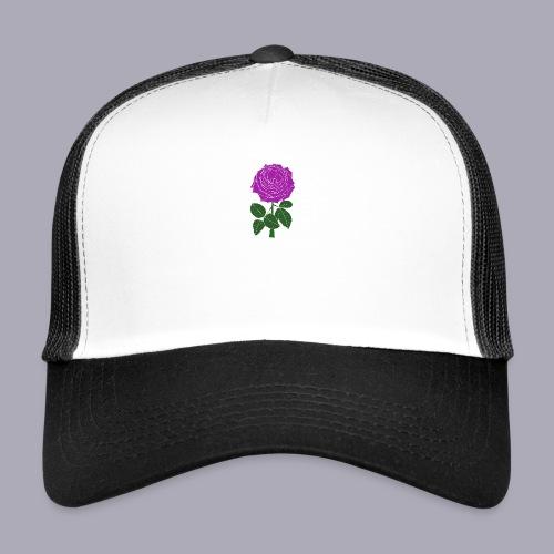 Landryn Design - Pink rose - Trucker Cap