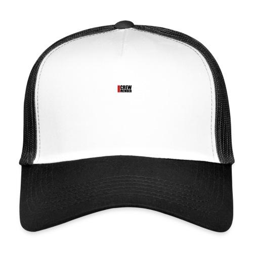 cool crew member logo design - Trucker Cap
