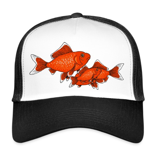 Poissons rouges - Trucker Cap