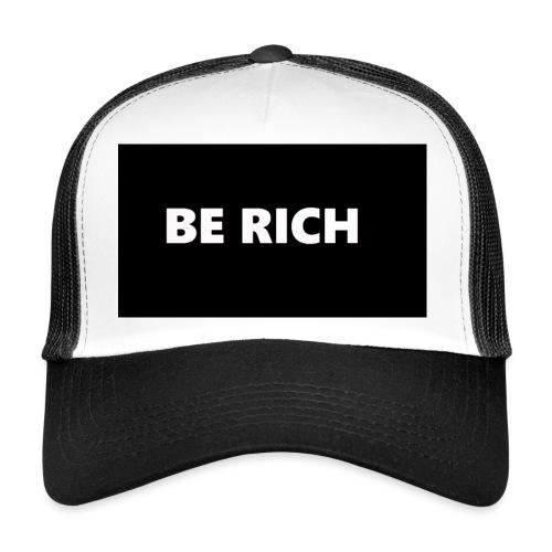 BE RICH REFLEX - Trucker Cap