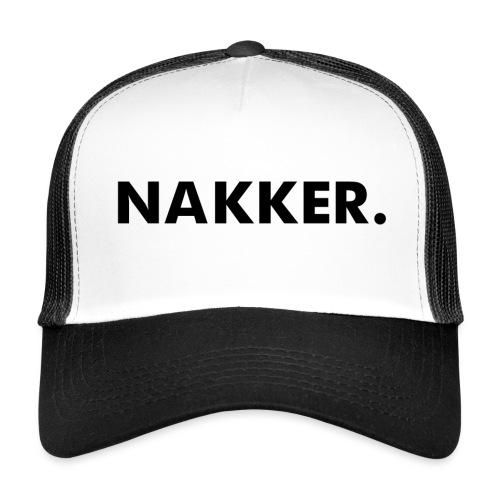 Nakker Zwart Pet 2 - Trucker Cap