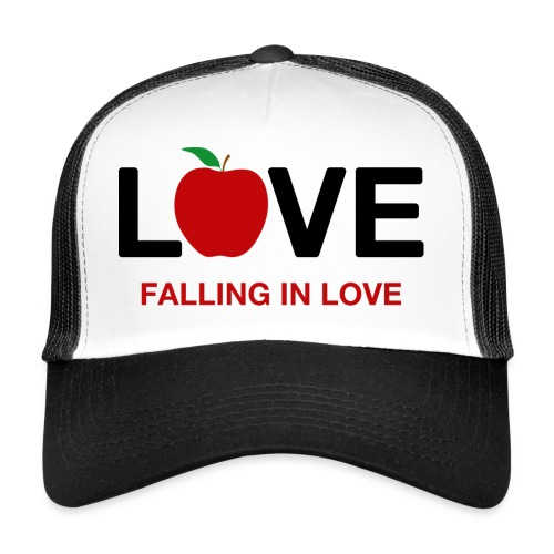 Falling in Love - Black - Trucker Cap