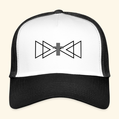 cross large - Trucker Cap