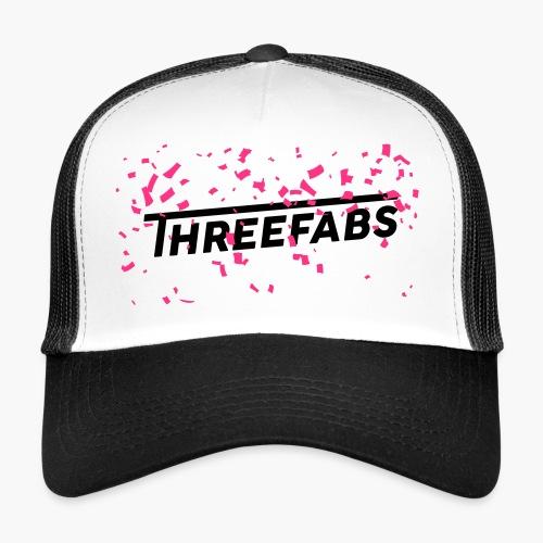 DJ ThreeFabs Pink Cap - Trucker Cap