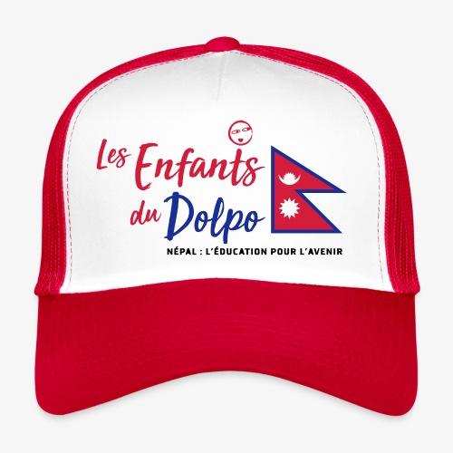 Les Enfants du Doplo - Grand Logo Centré - Trucker Cap