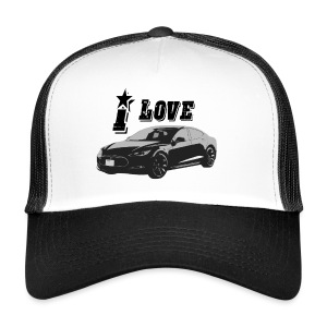 Tesla Model S - Trucker Cap