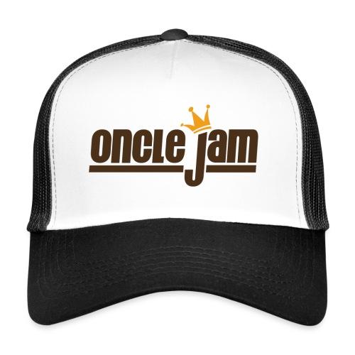 Oncle Jam horizontal brun - Trucker Cap