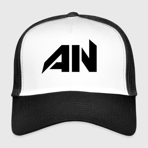 AN BLACK - Trucker Cap