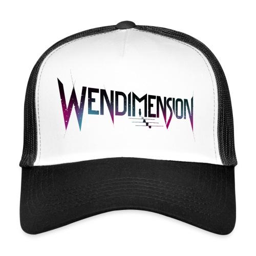wendimension wordmark space - Trucker Cap