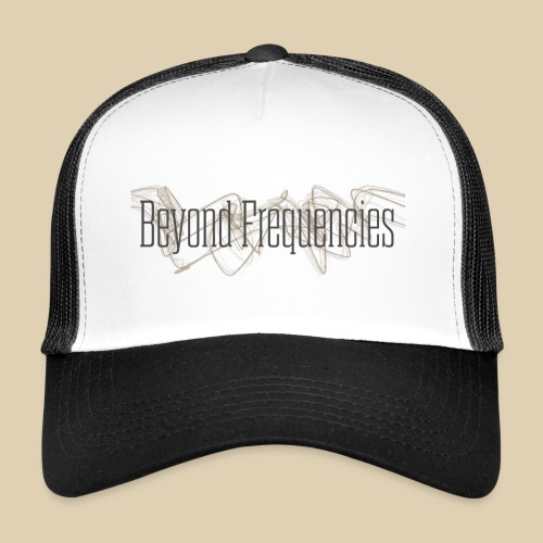 BF Waves Classic Design White - Trucker Cap
