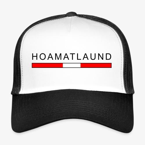Hoamat mit österreich flagge - Trucker Cap