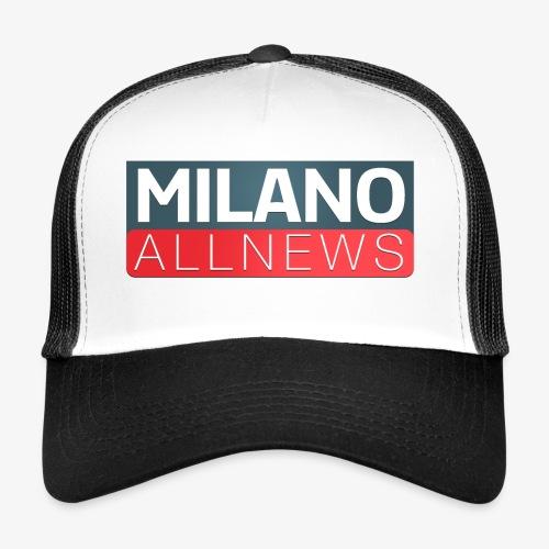 Milano AllNews Logo - Trucker Cap