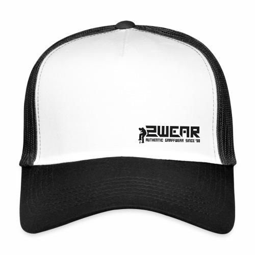 2wear org scrab logo wt - Trucker Cap