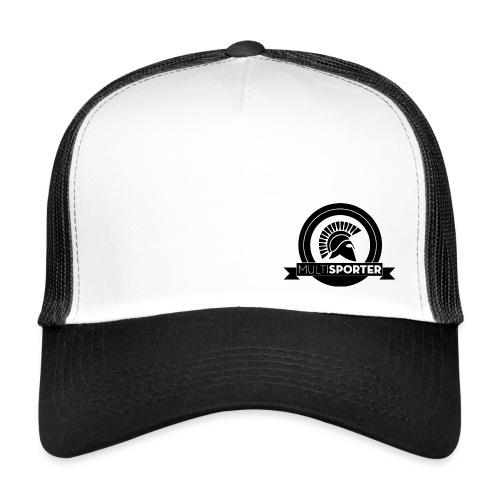 Logo Multisporter Zwart - Trucker Cap