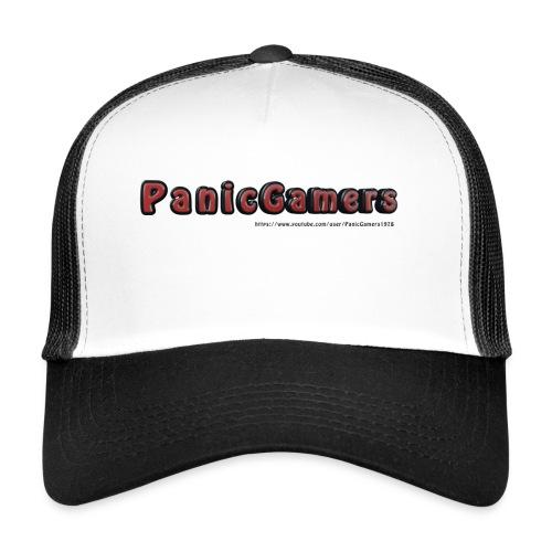 Cover PanicGamers - Trucker Cap