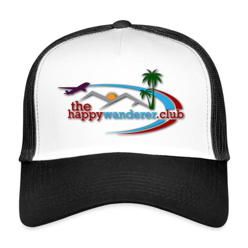 The Happy Wanderer Club Merchandise - Trucker Cap