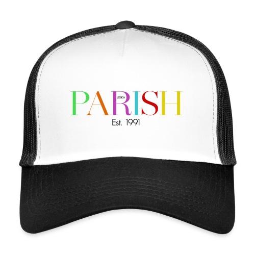 Jessica Parish Color-Schriftzug - Trucker Cap