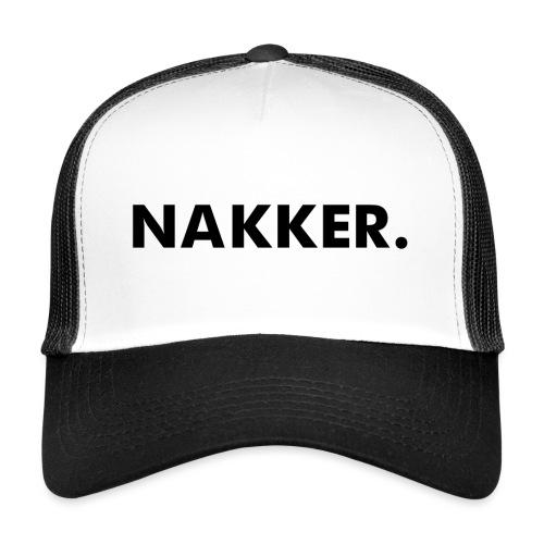 'Nakker' Wit - Trucker Cap