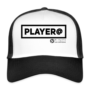 Player@ - Gorra de camionero