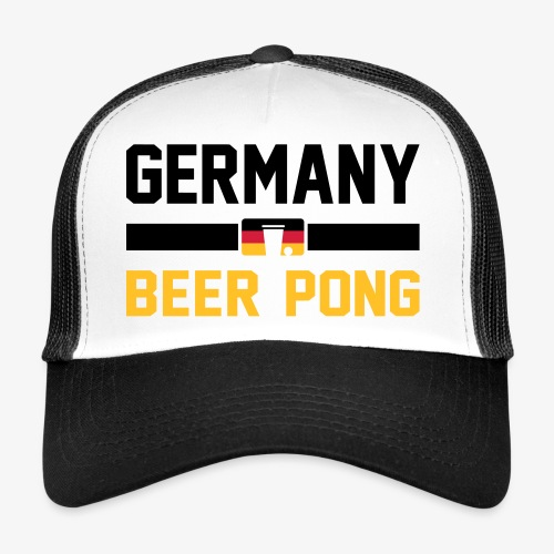 Germany Beer Pong - Trucker Cap