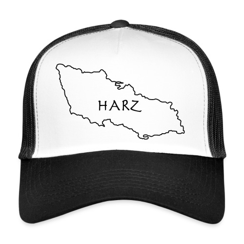 Harz kart sort - Trucker Cap