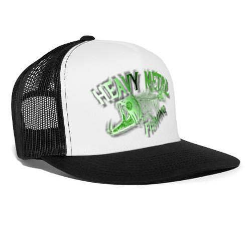 heavy metal alien - Trucker Cap
