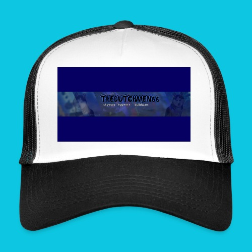 buismat bleu - Trucker Cap