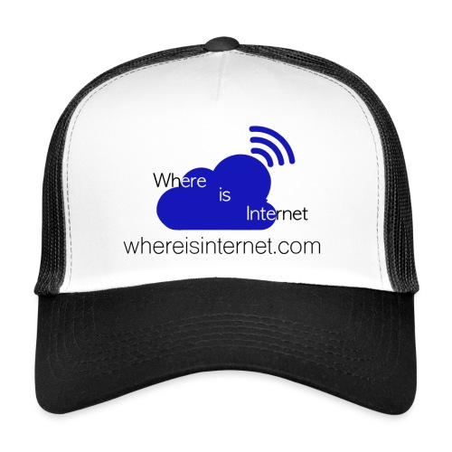 Where is the Internet - Trucker Cap